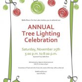 ANNUAL Tree Lighting Celebration
