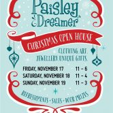 Paisly Dreamer – Christmas Open House