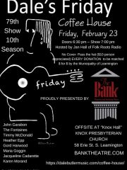 Dale's Friday Coffee House